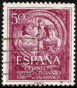 Spain 1953 Scott# 795 Used