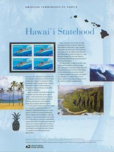 Hawai'i Statehood, set 4 (USCP4415)