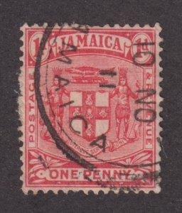 Jamaica 59  Arms of Jamaica 1906