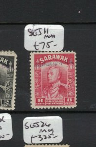 Sarawak Jap Oc 8c SG J11 MNH (7axm)
