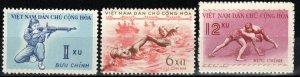 Vietnam #102-4 MNH CV $6.50  (X7741)