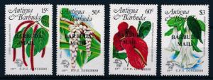 [62623] Barbuda 1984 Flora Flowers Blumen - UPU Overprint Barbuda Mail MNH