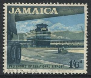 Jamaica -Scott 227 - Definitive Issue -1964 - Used - Single 1/6p Stamp
