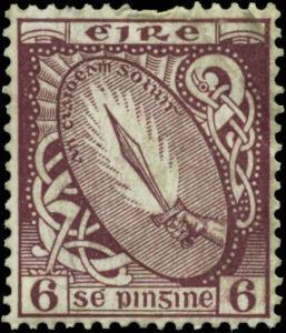 Ireland Scott #73 Mint Never Hinged