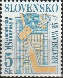 Slovakia, #209  Used , From 1995,  CV-$0.25