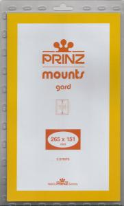 PRINZ BLACK MOUNTS 265X151 (5) RETAIL PRICE $13.50