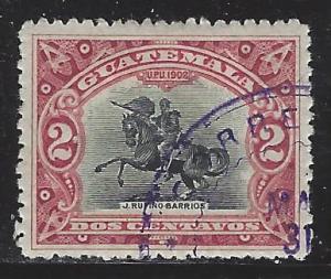 Guatemala Scott # 115, used