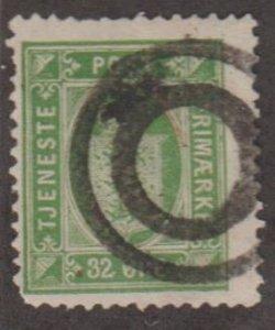 Denmark Scott #O9 Stamp - Used Single