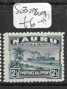 NAURU  (P1905B)  SHIP 2 1/2D   SG 30A     MOG
