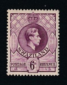 Swaziland a MH 6d KGVI perf 13.5 x 13