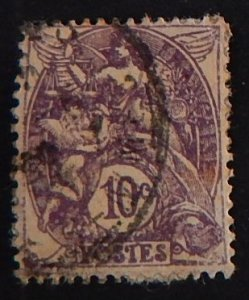 France, 10 cents, Liberty, Equality, Fraternity, 1929, SC #115A16, (2145-Т)