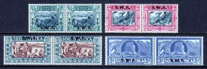 SOUTH WEST AFRICA— SCOTT B5-B8 (SG 105-108)— 1939 VOORTREKKER SET— MH — SCV $122