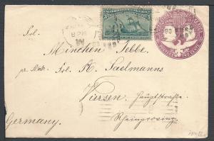 Scott #232, #U349, New York , 1893 Columbian Issue