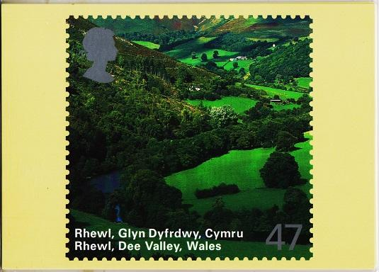 Great Britain. 2004 Wales. PHQ Cards(6) Unused