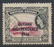 Guyana Independence 1966 SG 393 Used