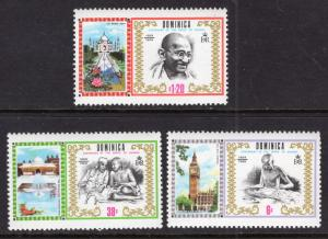 Dominica 261-263 MNH VF