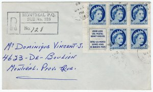 (I.B) Canada Postal : 5c Booklet Pane on Cover (SG 467)
