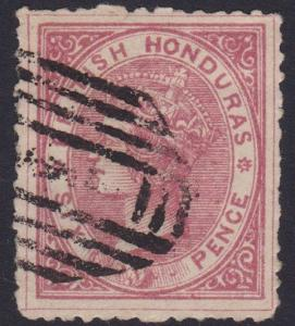 BR HONDURAS Am old forgery of a classic stamp...............................5766