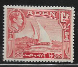 ADEN, 19, MINT HINGED, DHOW