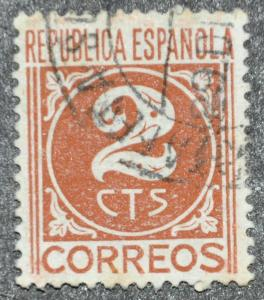 DYNAMITE Stamps: Spain Scott #640 - USED