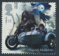 Great Britain SG 4146 Sc# 3785  Used  Harry Potter Hagrid's Motorbike
