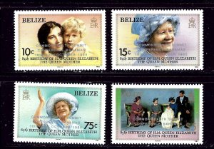 Belize 771-74 MNH 1985 Overprint set