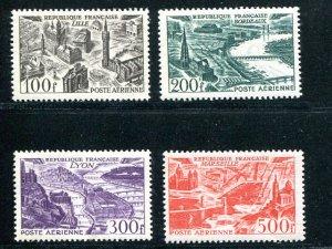 France #C23-26  Mint VF NH    - Lakeshore Philatelics