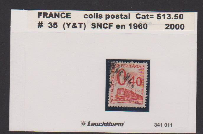 FRANCE #35 STAMP USED LOT#F31