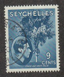 Seychelles Coco-de-mer Palm (Scott #131) Used