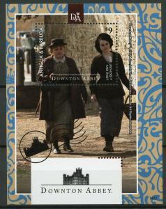 Antigua & Barbuda 2014 MNH Downton Abbey Mrs Patmore 1v S/S TV Series Stamps