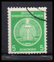 German Democratic Republic CTO NG Fine ZA4618