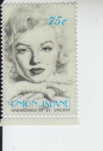 2004 Union Is St Vincent Marilyn Monroe  (Scott 279) MNH