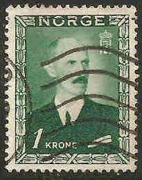 Norway Used Sc 275 - King Haakon VII