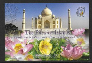 PITCAIRN ISLANDS SGMS823 2011 INDIPEX FINE USED