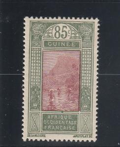 French Guinea  Scott#  94  MH  (1926 Ford at Kitim)