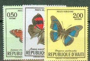 CT: Haiti 625-7, C348-50 MNH CV $52.25