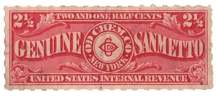 (I.B) US Revenue : Private Die Proprietary 2½c (OD Chem Co)