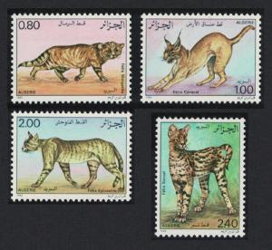 Algeria Wild Cats 4v SG#917-920