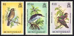 HALF-CAT BRITISH SALE: MONTSERRAT #524-38 Mint NH