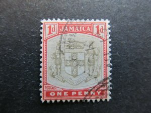 A4P21F31 Jamaica 1903-04 Wmk Crown CA 1d used