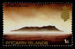 PITCAIRN ISLANDS QEII SG94a, 1969 1c GLAZED ORDINARY PAPER, NH MINT.