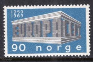 Norway 534 MNH VF