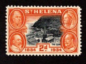 ST. HELENA  SC# 104  FVF/MOG