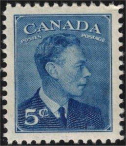 CANADA - 5c KGVI SC288 Mint NH 1949
