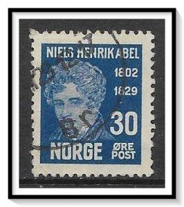 Norway #148 Niels Henrik Abel Used