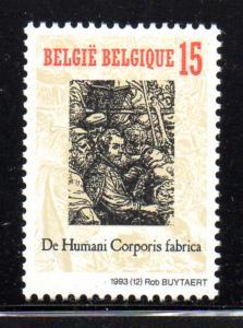 Belgium Sc 1507 1993 De Humani Corporis Fab. stamp mint NH