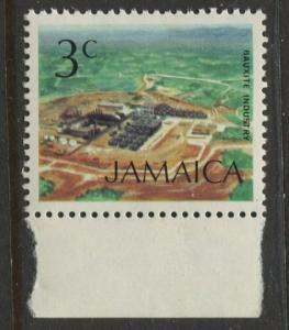 Jamaica - Scott 345 - QEII Definitive -1972 - MNH - Single 3c Stamp