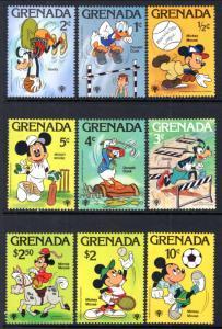 Grenada 950-958 Disneys MNH VF
