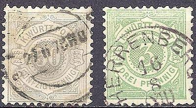 Wuerttemberg #56,66  Used  VF