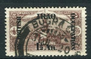 IRAQ; 1918 BRITISH OCCUPATION issue fine used 1.5a. value + good POSTMARK